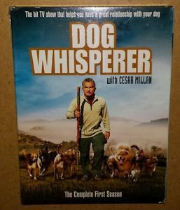 Dog Whisperer with Cesar Millan The Complete First Season DVD 2006 4 Disc 025193009128