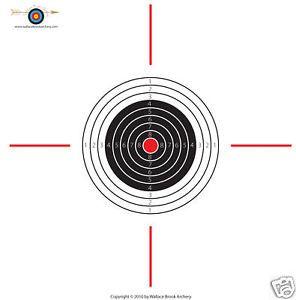 10 Meter Air Rifle Paper Target 100 shts