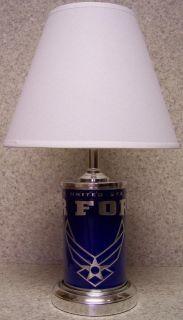 Military Table Lamp U s Air Force 60 Watt w Shade New