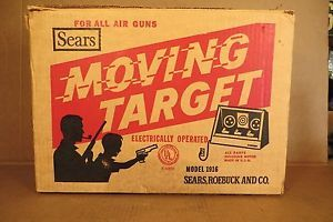 Vintage Marksman Moving Target Shooting Gallery BB's Pellet CO2 Guns Targets