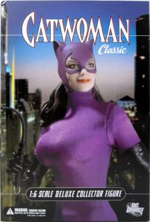 "DC Direct Catwoman Classic 13"" 1 6 Scale Deluxe Collector Figure Batman New"