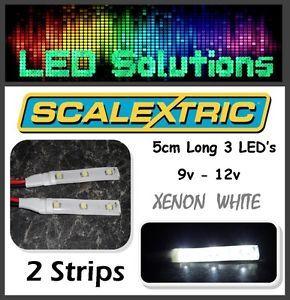 Slot Car Scalextric Track Model LED Light Lighting Strips 9V 12V Waterproof