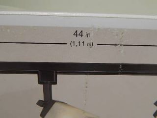Lot 2 Hampton Bay 540102 3 Light Linen Glass Linear Track Light Kit Black 23054