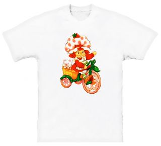 Strawberry Shortcake Kids Cartoon T Shirt