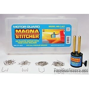 Motorguard MS1KIT The Magna Stitcher™ Plastic Repair Kit for Stud Welders
