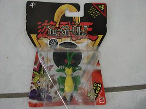 """Yu Gi Oh Series 3 Basic Insect 3D Action Figure Mattel 2"""" Toy Hologram Tile"""