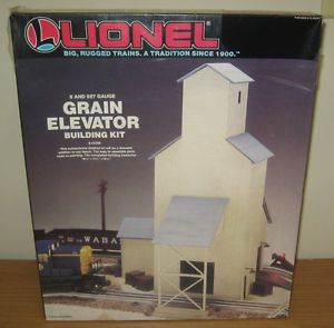 Lionel 6 12726 Grain Elevator Building Kit Train Accessory O Gauge Layout Scale