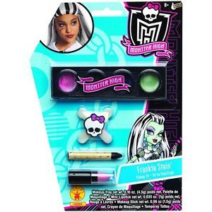 Frankie Stein Makeup Kit Monster High Make Up Set Kids Costume Accessory
