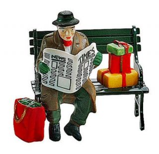 Rest Ye Merry Gentleman Christmas City New Department Dept 56 Village D56 CIC