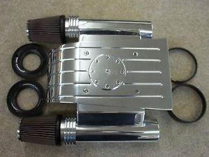 Walter Prosper Billet Aluminum Air Cleaner Phantom Street Rod Hot Rod Machine