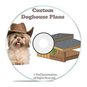 Insulated Dog House Plans Complete Set Medium Dog Step by Step Instructions