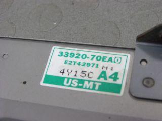 95 Suzuki Sidekick Geo Tracker MFI ECM ECU Engine Computer 33920 70EA0 70ea C