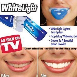 White Light Dental Teeth Care White Teeth Perfect Smile UV Light Technology
