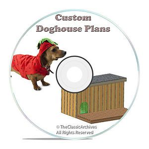 Insulated Dog House Plans Complete Set Multiple Dog Kennel Plans for 2 Dogs