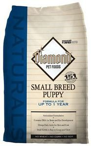 Diamond Naturals Dog Food Small Breed Puppy 6 lbs 60823 American Distributio