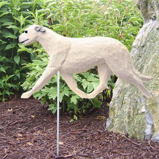 Irish Wolfhound Dog Figure Garden Stake Home Yard Garden Products Gifts