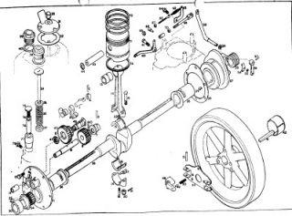Lister Classic Engine Instruction Book Full Parts Manual Junior A AK B BK