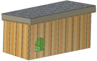 Insulated Dog House Plans 15 Total Large Dog with Covered Porch Plans
