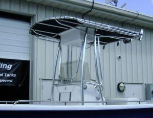 Custom Aluminum T Tops for Boats