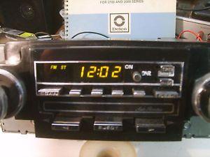 78 87 GM Delco ETR Am FM Cassette Radio Chevy Corvette Camaro Trans Am Truck
