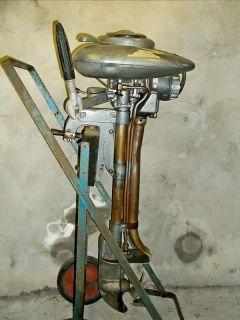 1941 Champion 3 6 HP Vintage Outboard Boat Motor Engine Johnson Evinrude 9 9 15