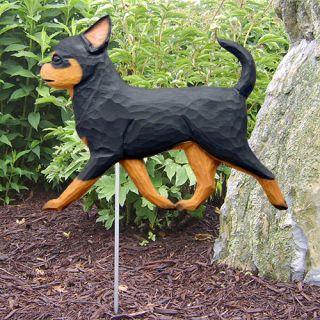 Chihuahua Dog Figure Garden Stake Home Yard Garden Products Gifts