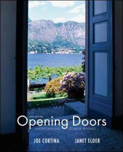 Opening Doors by Janet Elder and Joe Cortina 2010 Paperback