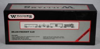 Williams Electric Trains 702 Shell Tank Car 3 Rail Brass Freight Car C8 Rate