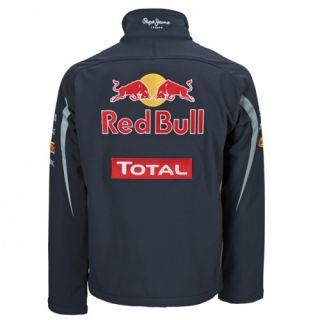 Authentic Infiniti Red Bull Racing F1 Team 2012 Mens Softshell Jacket Vettel