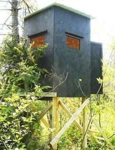 Plans For Elevated Hunting Blind On Popscreen
