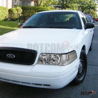 Ford Crown Victoria Crystal Clear Headlights Corner 4pc Set