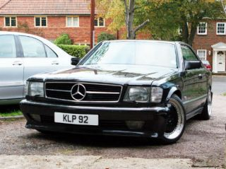 Mercedes Benz 560 Sec AMG Brabus Lorinser Custom Interior