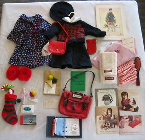 American Girls Molly Clothing and Accessories School Christmas Stocking Retired