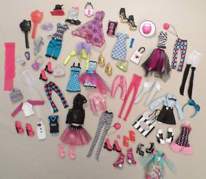 Monster High Doll Lot All Items Clothing Shoes Accessories