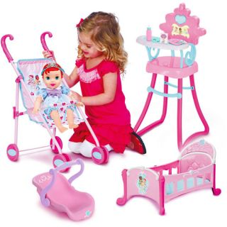 Disney Princess Baby Ariel with Royal Accessories Playset