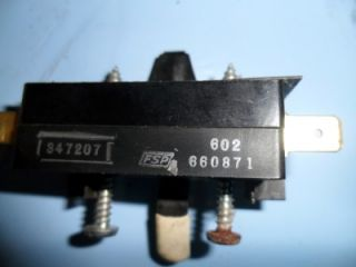 Whirlpool Dryer Door Switch and ACTUATOR660871 Used Appliance Part Kenmore Roper