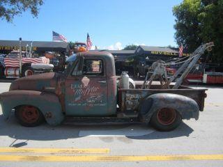 1952 Chevrolet Pick Up Rat Rod Custom Show Truck Big Block Live Video L K