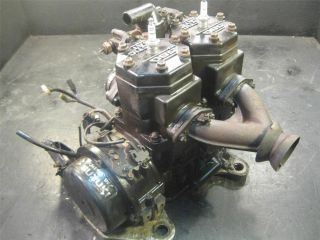 1996 Arctic Cat ZR 580 Snowmobile Twin Motor Engine Running Block Complete EFI