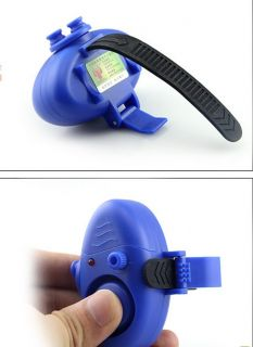 Pro Electronic Fish Bite Sound Alarm LED Light Alert Bell Clip on Fishing Rod