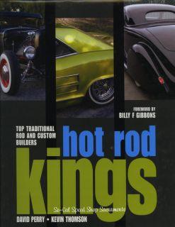 Hot Rod Kings Book Traditional Rod and Custom Builders Rat Street Old School