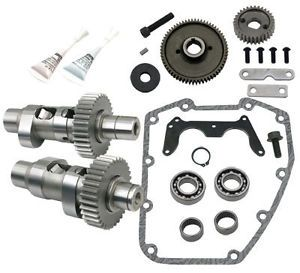 106 5247 s s 585GE Grind Easy Start Gear Drive Cam Kit Harley Twin Cam 1999 2006