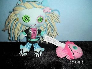 Monster High Plush Doll and Pet Fish