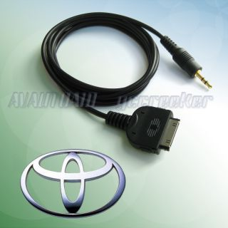 iPod iPhone to 2010 2011 Toyota Camry RAV4 Audio Cable