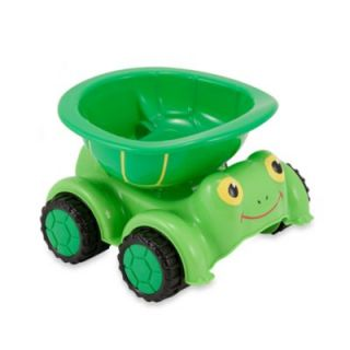 Melissa & Doug® Tootle Turtle Toy Dump Truck