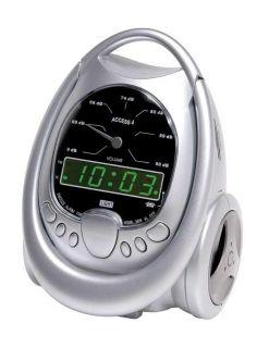 Access 4 Alarm Clock Lights Audible Alarm Bed Vibrate