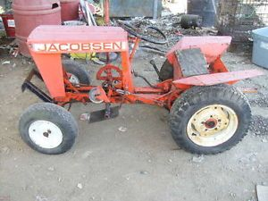 Vintage Jacobsen 100B Garden Tractor for Parts or Repair
