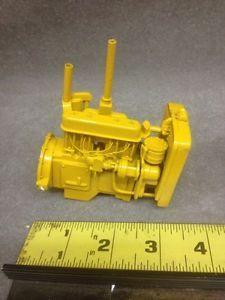 1940's 50's Older Caterpillar Tractor Engine Ertl Keuhl Die Cast Toy Custom Farm