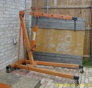 2 Ton Engine Hoist Shop Crane