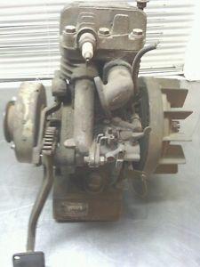 Antique Cushman Scooter Husky Engine Vintage RARE