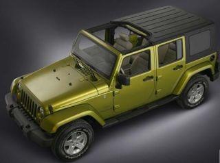 2007 Jeep Wrangler Unlimited Sahara 4 Door 4WD Hard Soft Tops Navi Automatic